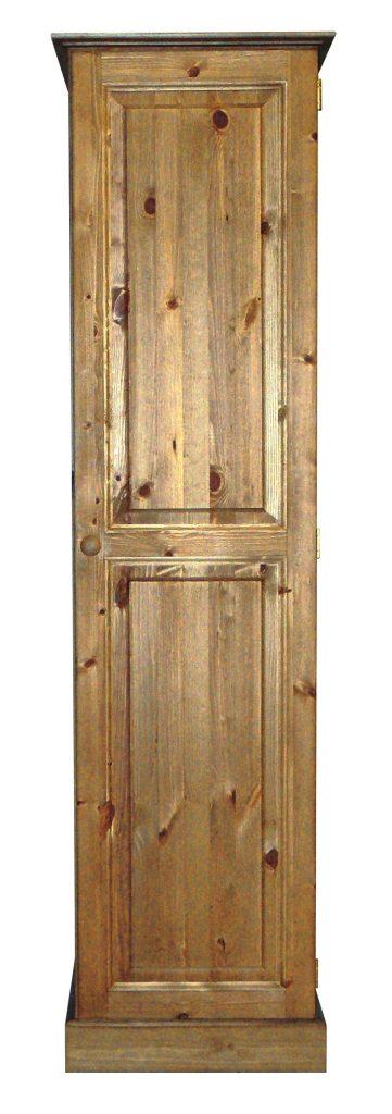 Premier Pine Single Door Full Length Wardrobe