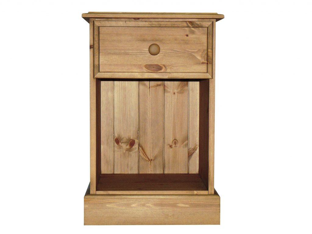 Premier Pine 1 Drawer Bedside