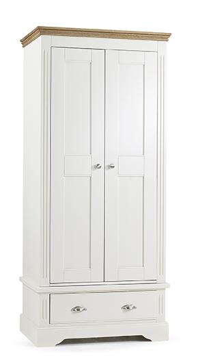 Kendal 2 Door 1 Drawer Wardrobe - Our Price £899
