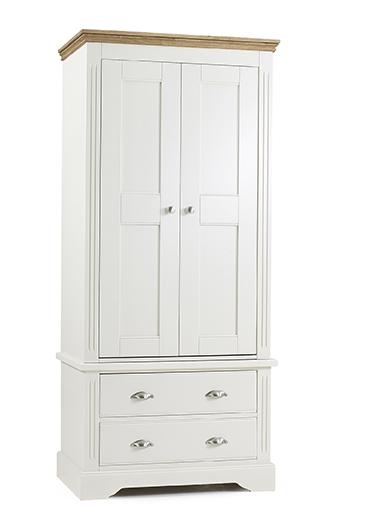 Kendal 2 Door 2 Drawer Wardrobe - Our Price £979