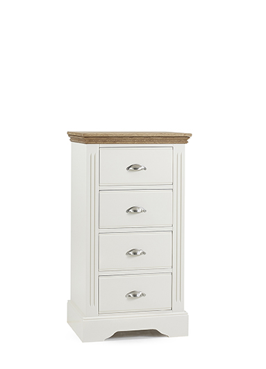 Kendal 4 Drawer Wellington Chest of Drawers - Our Price £399
