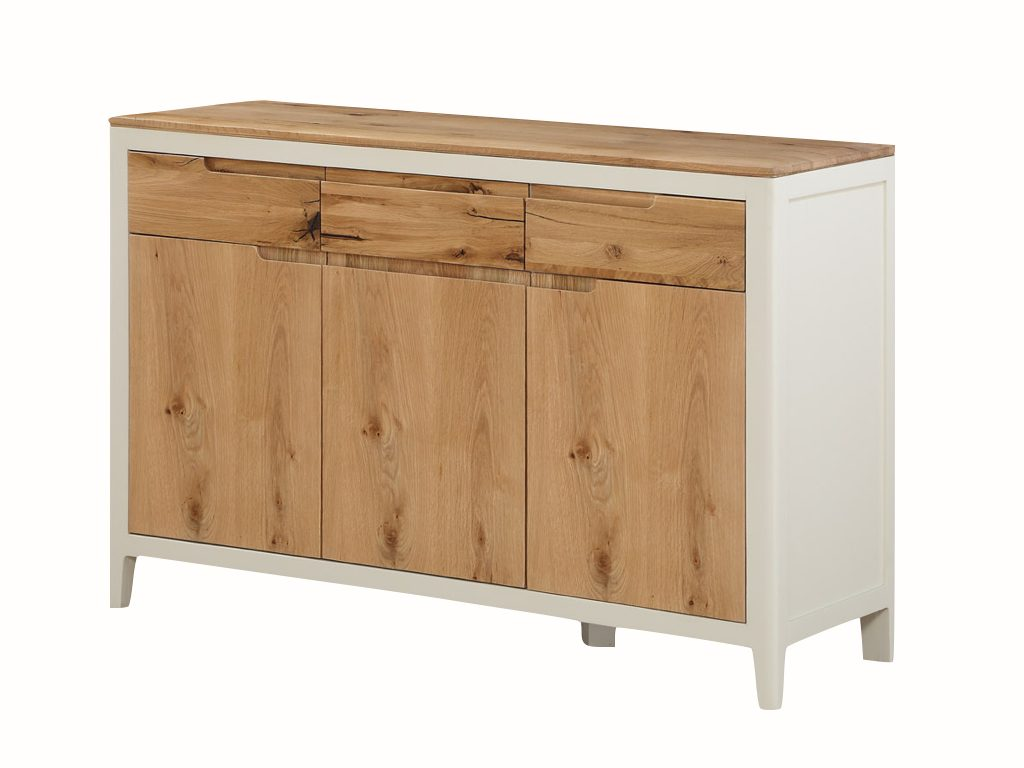 Dundee Painted 3 Door 3 Drawer Sideboard - Our Price £525