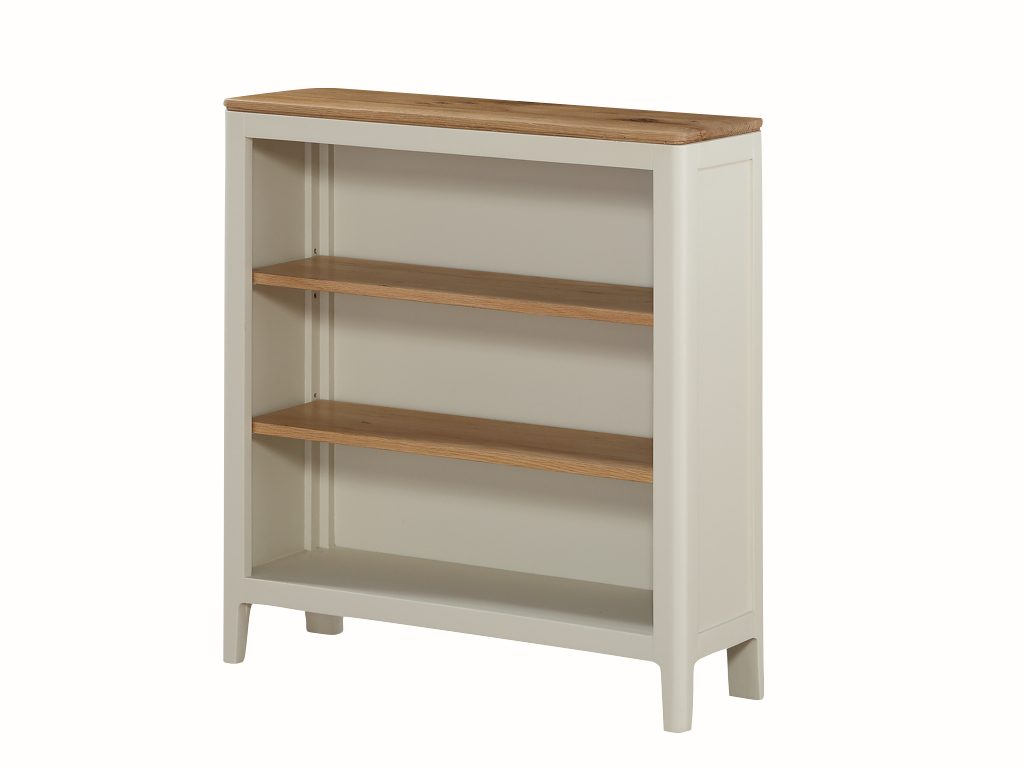 Dundee Painted Low Bookcase