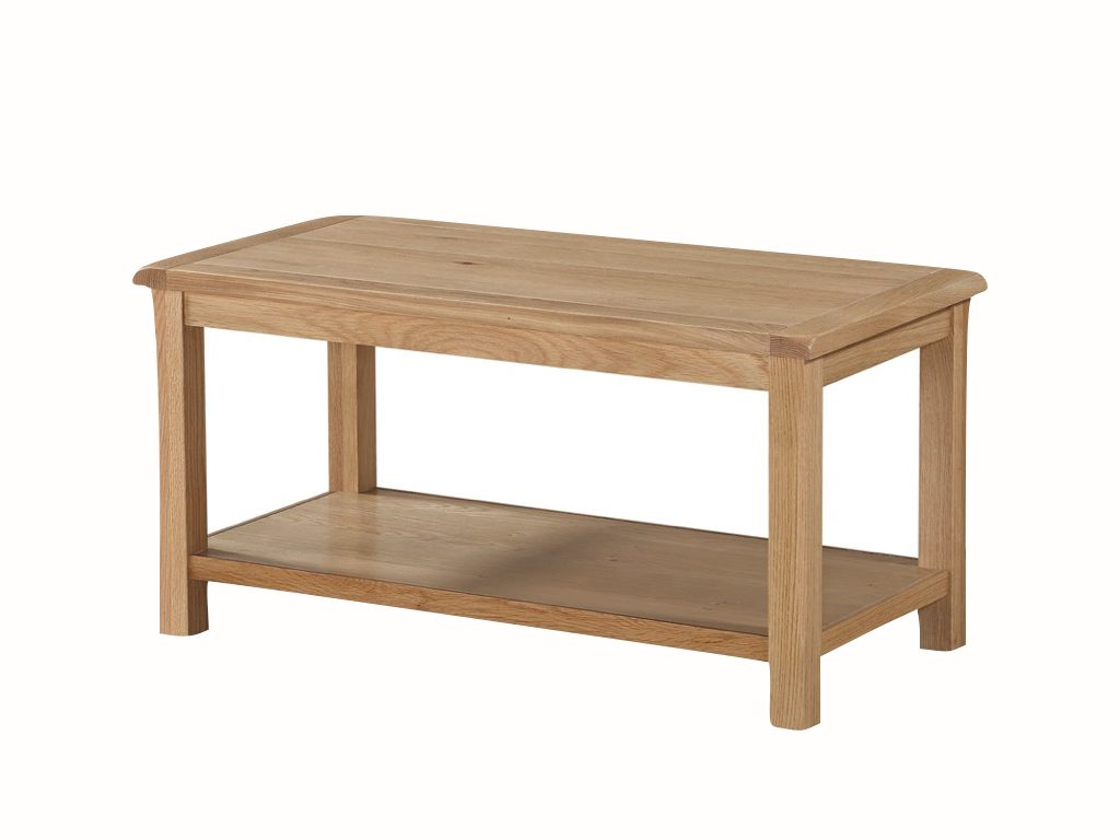 Kerry Coffee Table with Shelf - Our Price £159