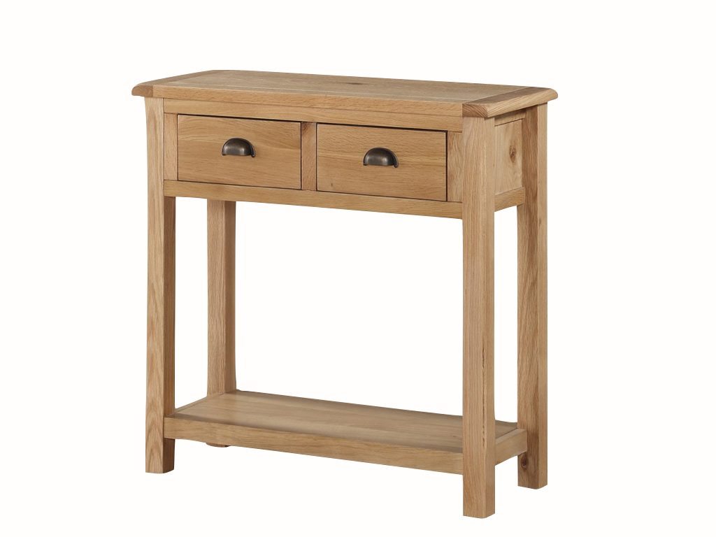 Kerry Large Hall Table with 2 Drawers - Our Price £239