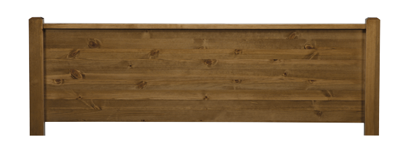 Sutton Solid Pine Headboard