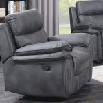 Richard Reclining Suite - Charcoal Grey