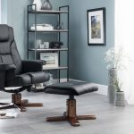 Sweden Swivel Recliner and Footstool - Our Price £239