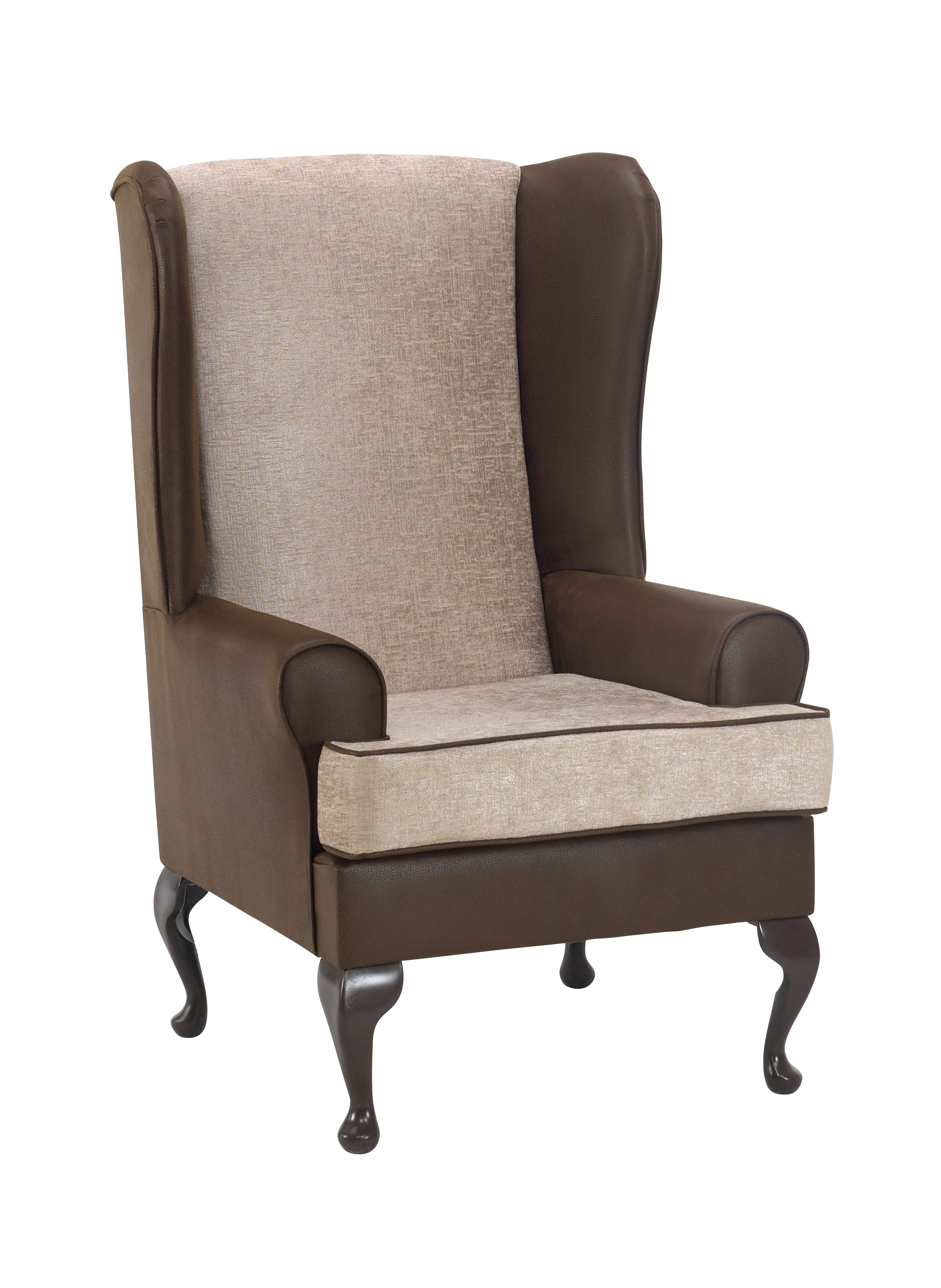 Madison Wingback Fireside Chair