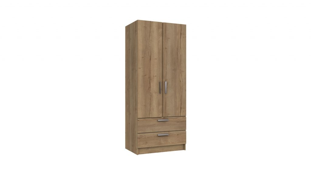 Cascada 2 Door 2 Drawer Combi Robe - Our Price £389