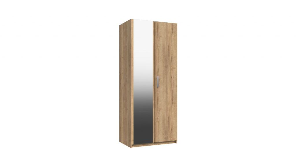 Cascada 2 Door Mirrored Wardrobe - Our Price £369