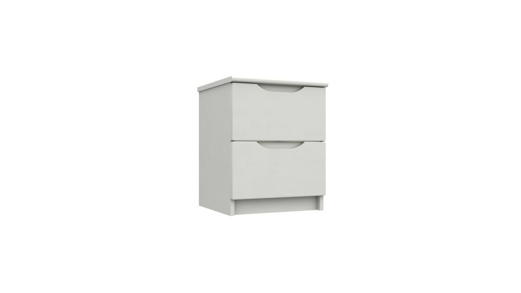 Rene 2 Drawer Bedside Cabinet - Our Price £215