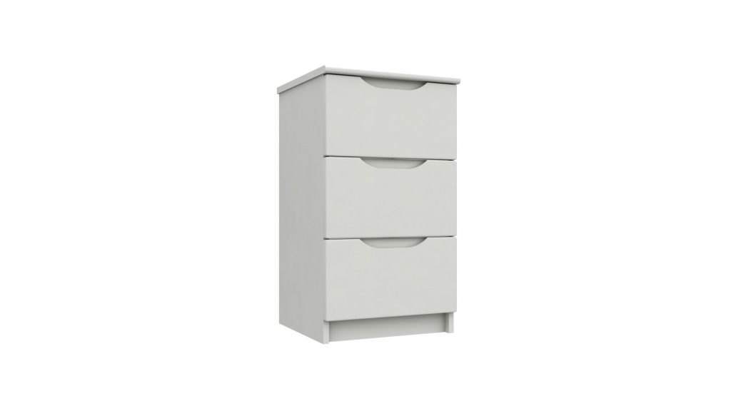 Rene 3 Drawer Bedside Cabinet - Our Price £239