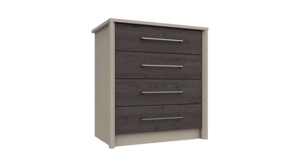4 Drawer Chest in Anthracite Larch - Our Price £265