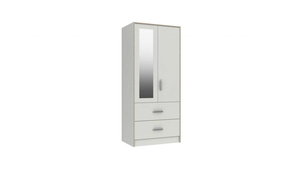 Martock 2 Door Mirrored Wardrobe - Our Price £359