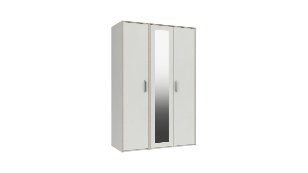 Martock 3 Door Mirrored Wardrobe - Our Price £489
