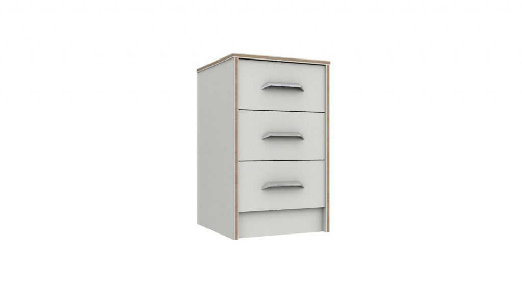 Martock 3 Drawer Bedside - Our Price £115