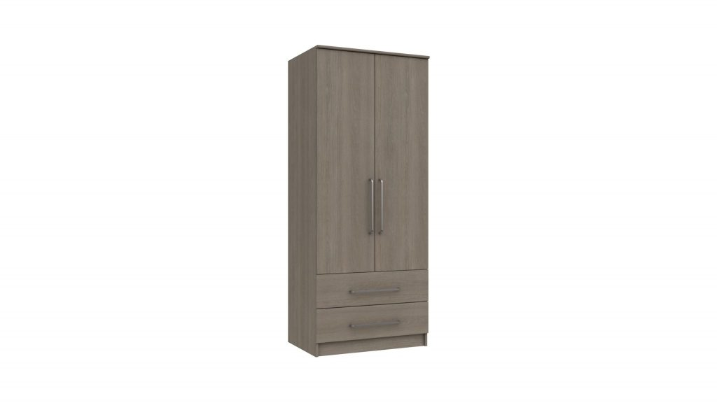 2 Door 2 Drawer Combi Wardrobe - Our Price £389
