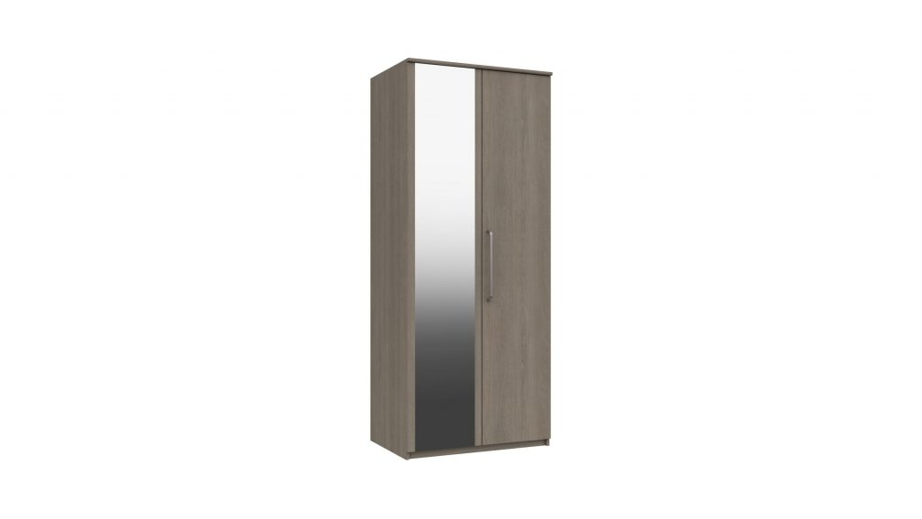 2 Door Mirrored Wardrobe - Our Price £365