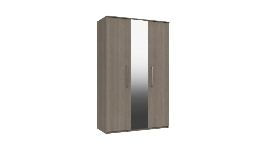 3 Door Mirrored Wardrobe - Our Price £549