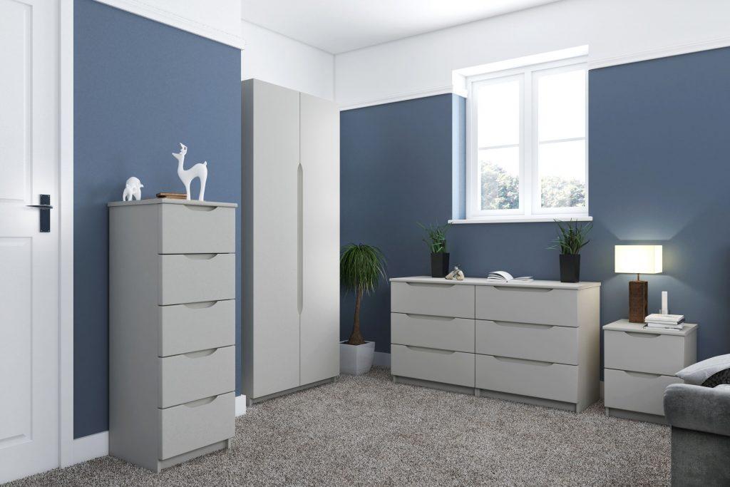 Rene Gloss Finish Bedroom Range