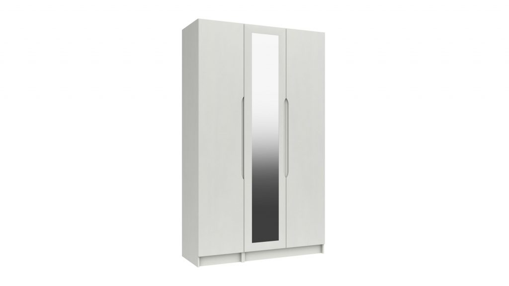 Rene 3 Door Tall Mirrored Robe - Our Price £1199