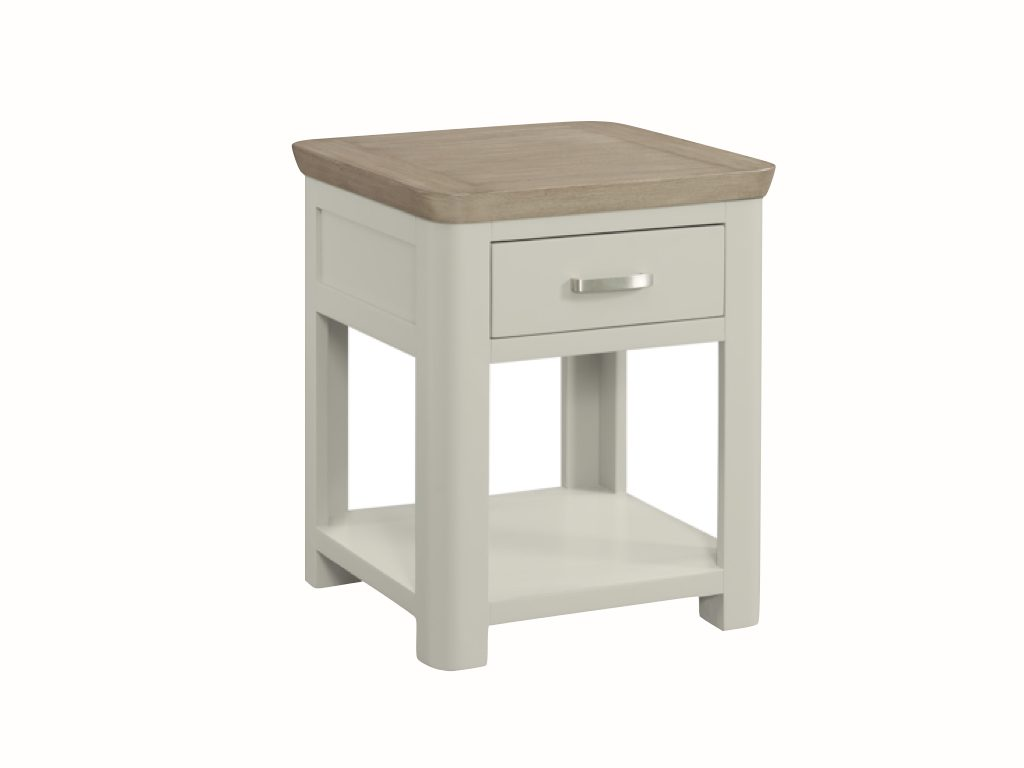 Milano End Table with Drawer - Our Price £299