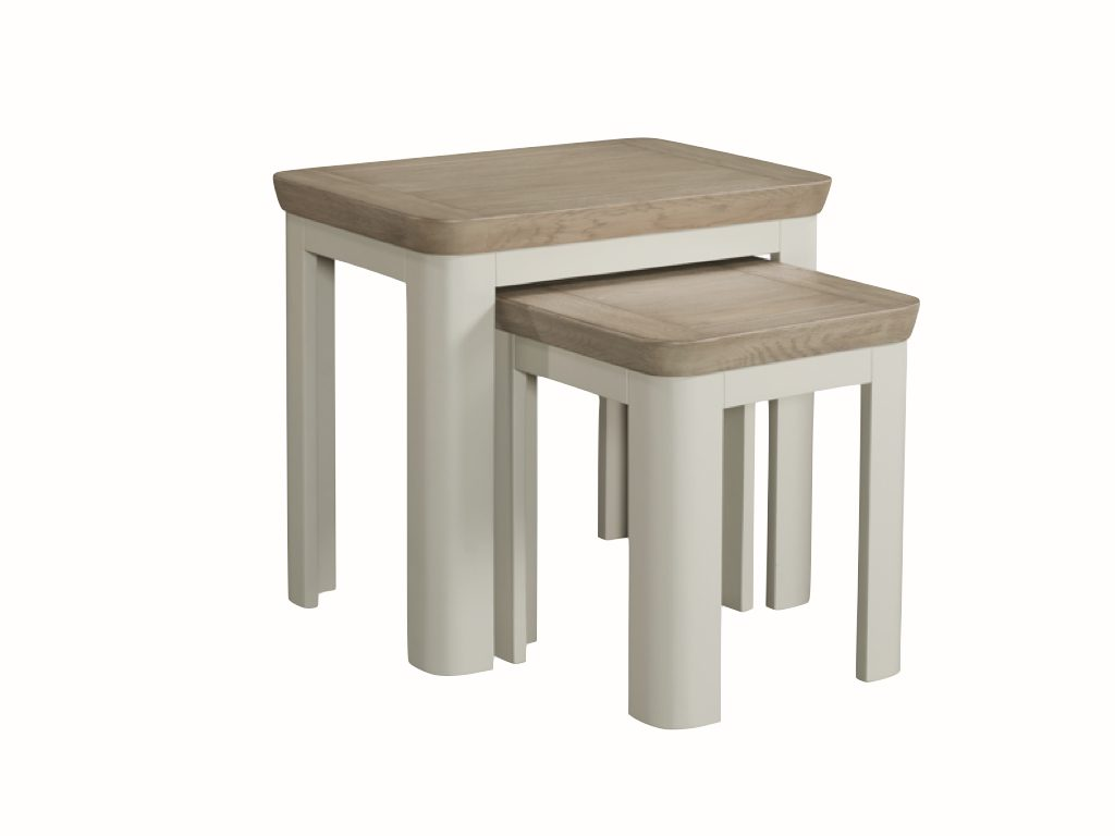 Milano Nest of Two Tables - Our Price £299