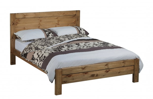 Carlton Solid Pine Bed Frame