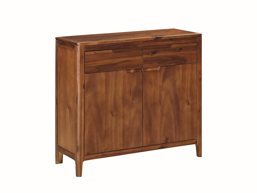 Dundee Acacia 2 Door 2 Drawer Sideboard - Our Price £399
