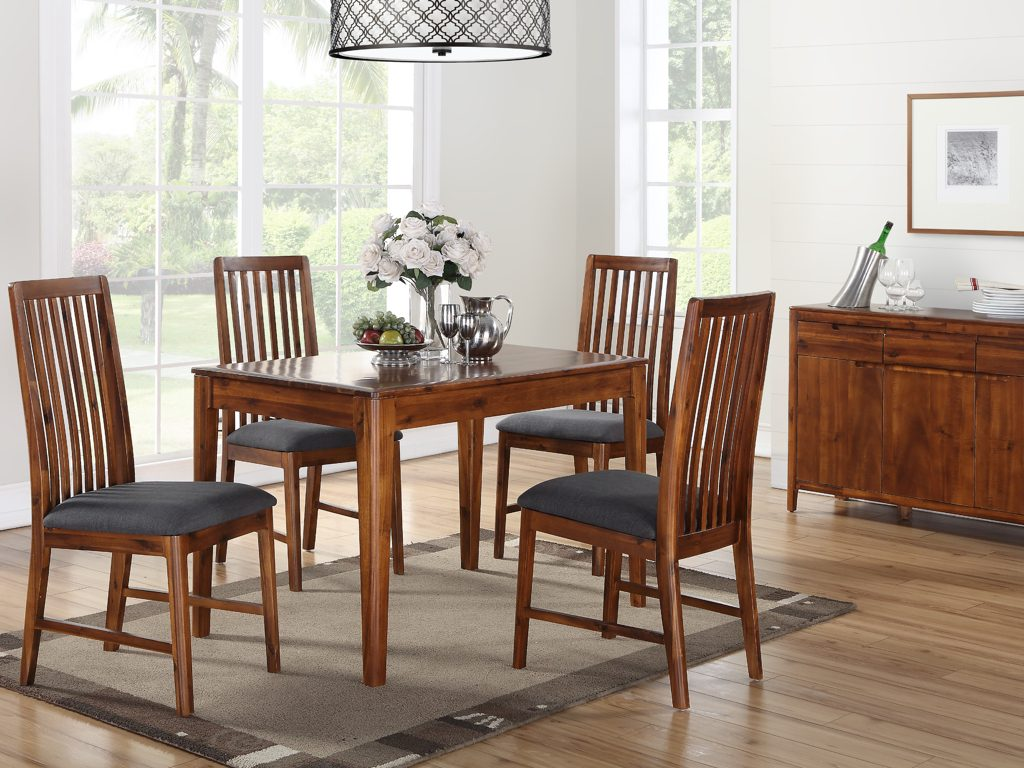 Dundee Acacia Dining Table and 4 Chairs - Our Price £869
