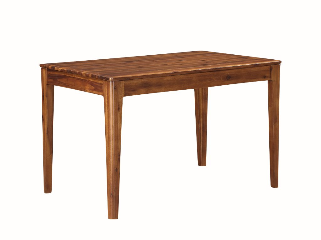 Dundee Acacia Fixed 120cm Dining Table - Our Price £339