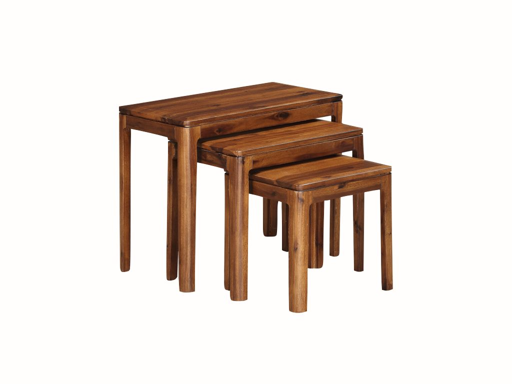 Dundee Acacia Nest of 3 Tables - Our Price £199