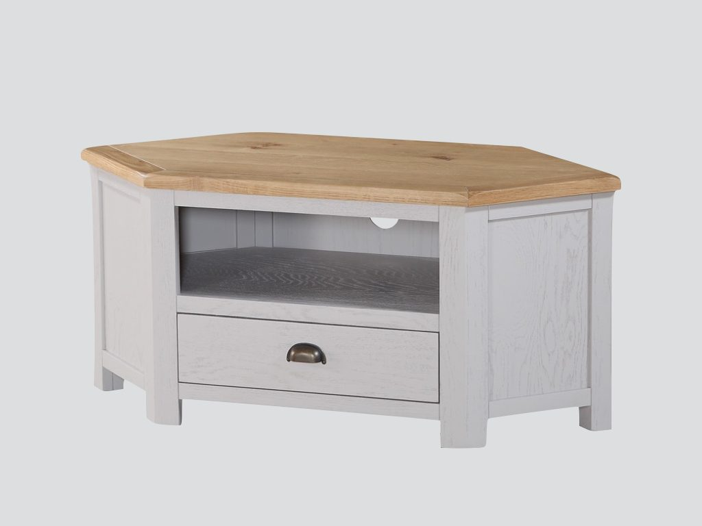 Kerry Painted Corner TV Unit - Our Price £399