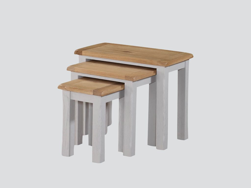 Kerry Painted Nest of Tables - Our Price £265