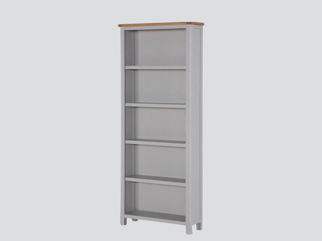 Kerry Painted Tall Wide Bookcase - Our Price £369