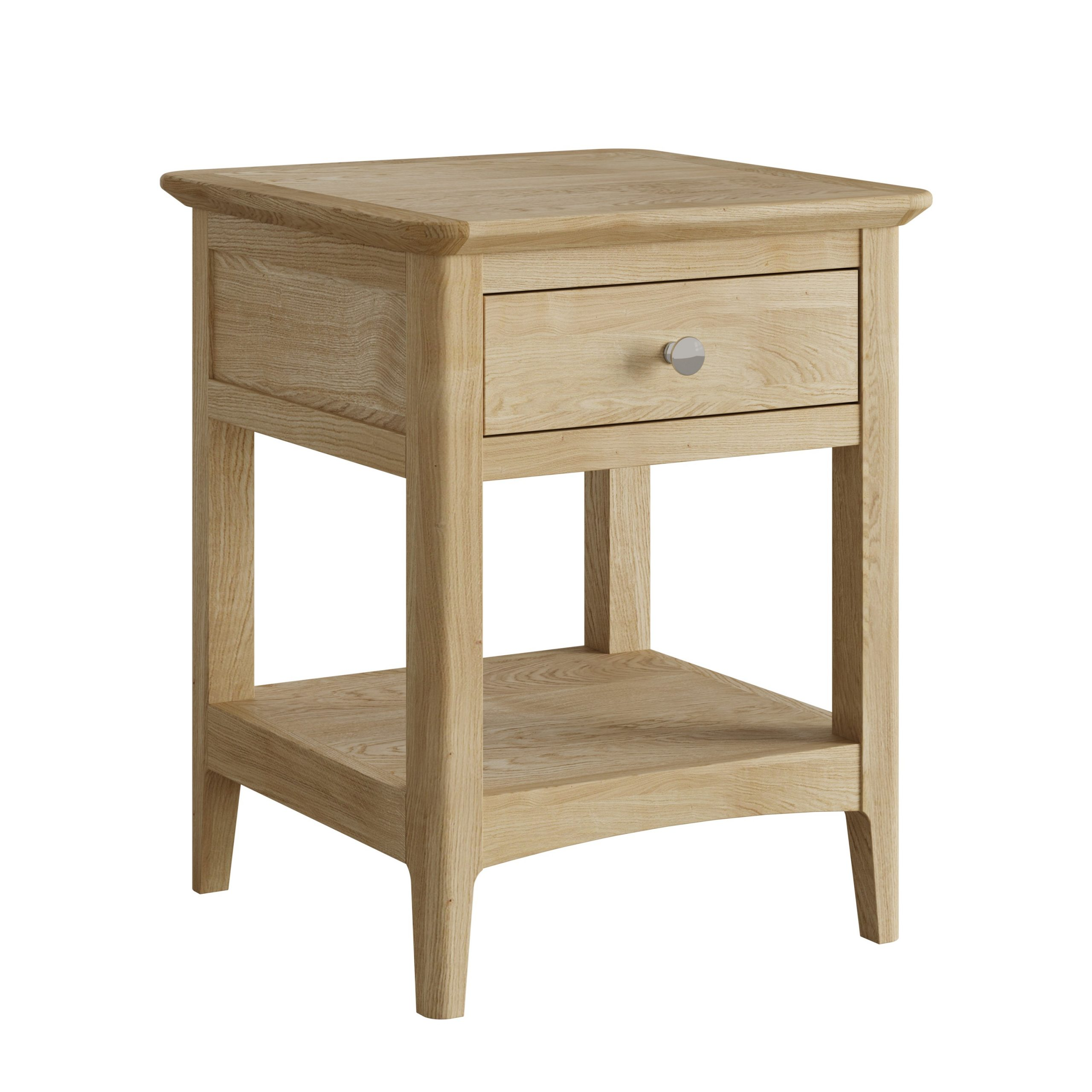 Oak Lamp Table or Bedside with Drawer - Our Price - Only £199