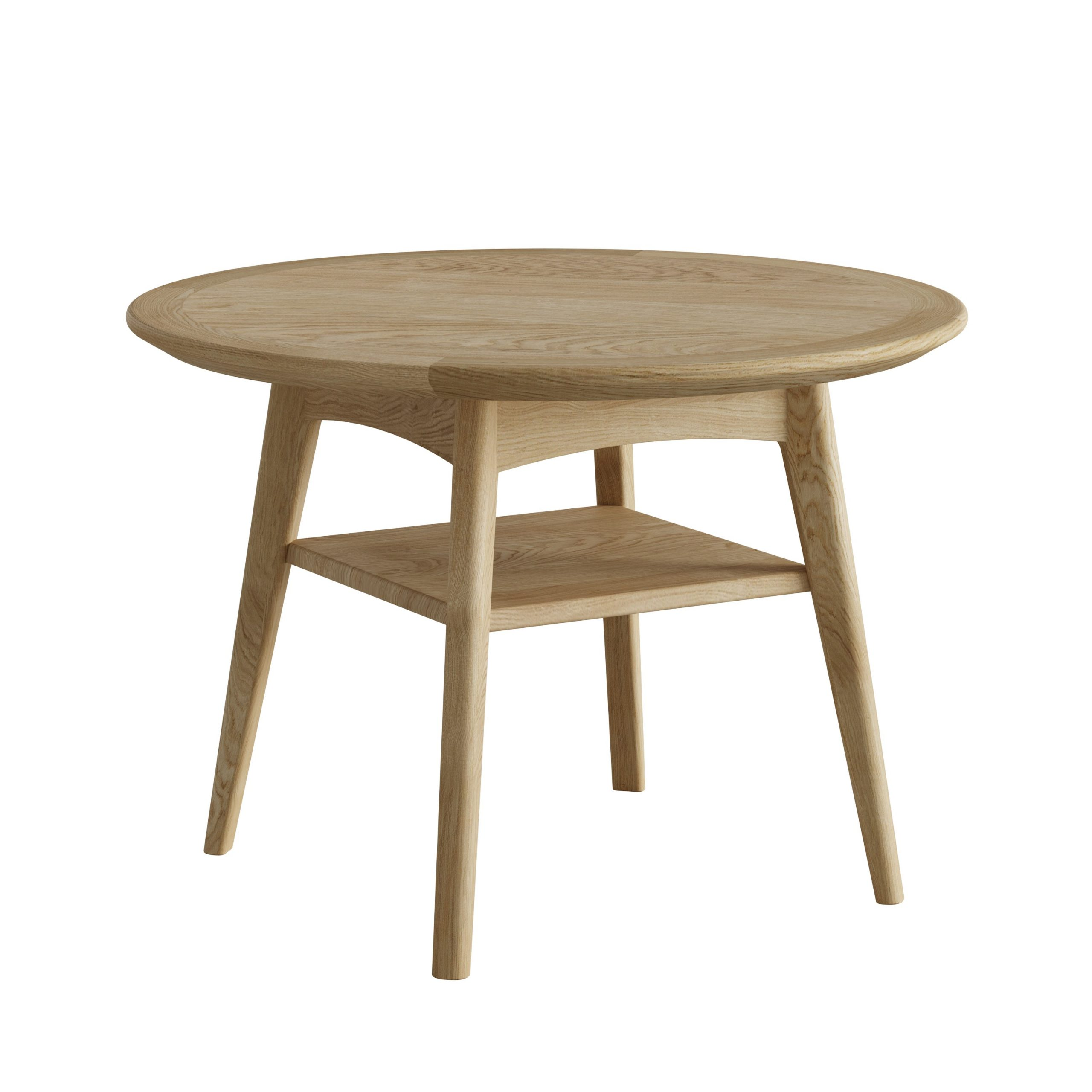 Oak Round Coffee Table - Our Price - Only £199
