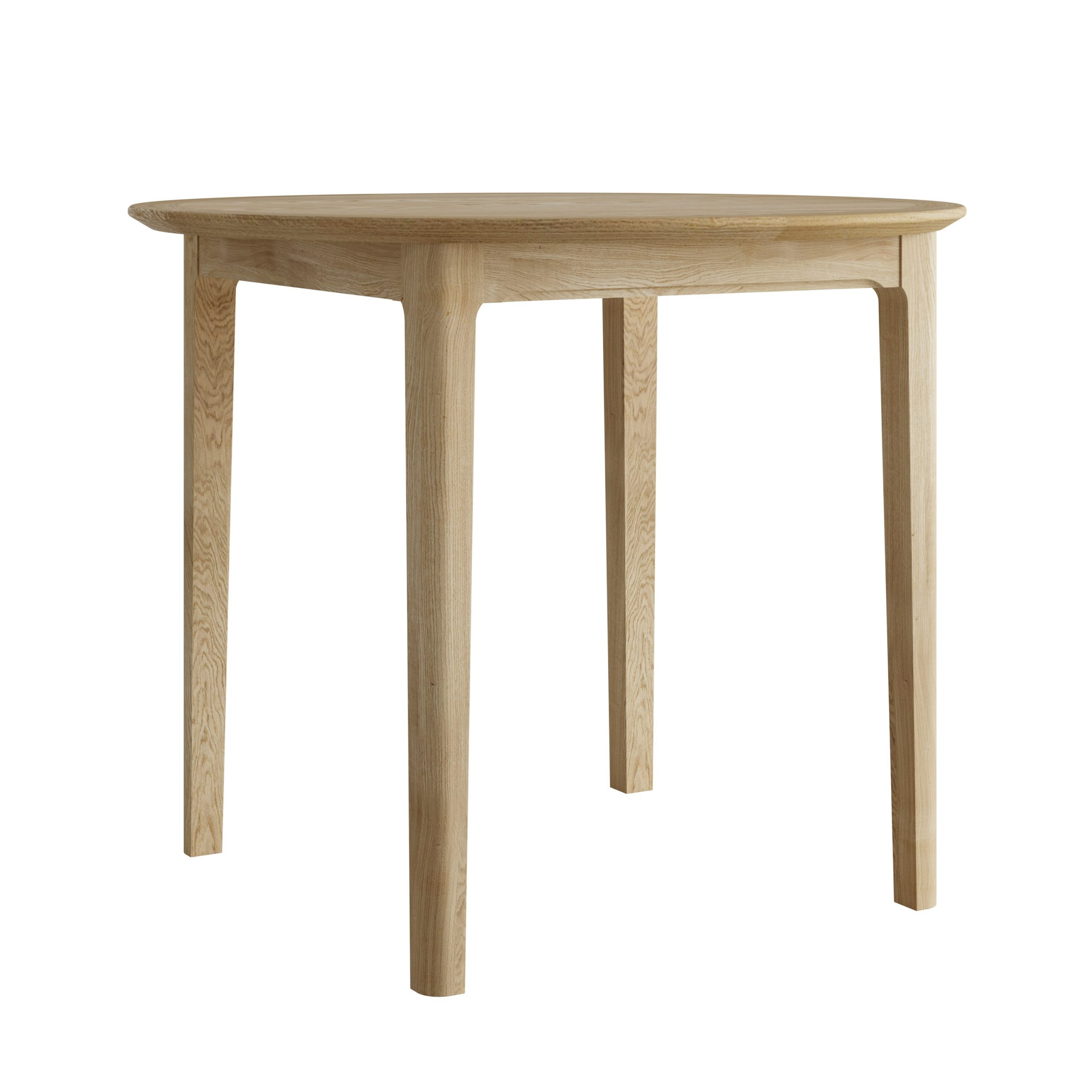 Oak Round Breakfast Table - Our Price - Only £329