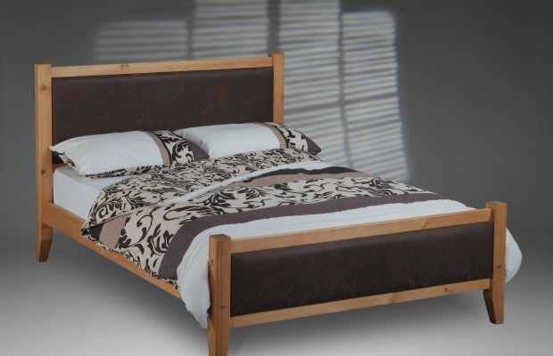 Savoy Solid Pine Bed Frame