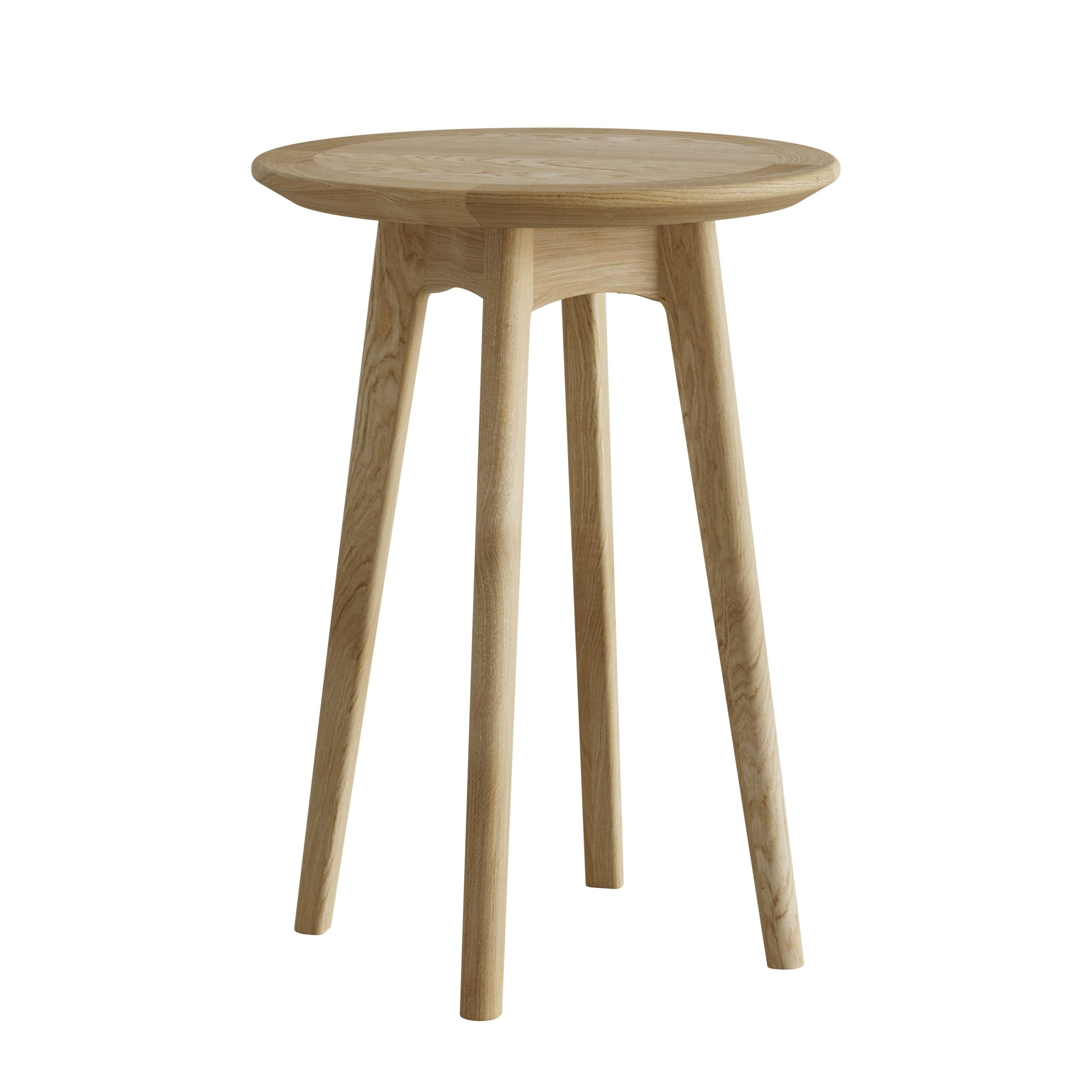 Oak Small Round Wine Table - Our Price - Only £125