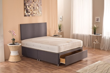 Visco 1000 - Pocket Sprung Memory Foam Divan Set