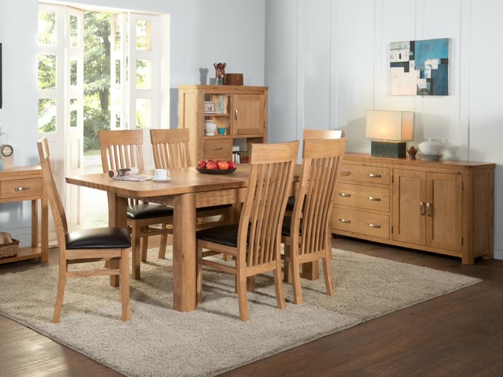 Milano Oak Dining Furniture Range