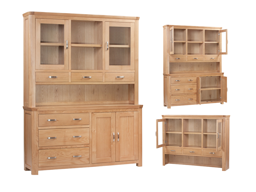 Milano Large Buffet Hutch - Our Price £2069