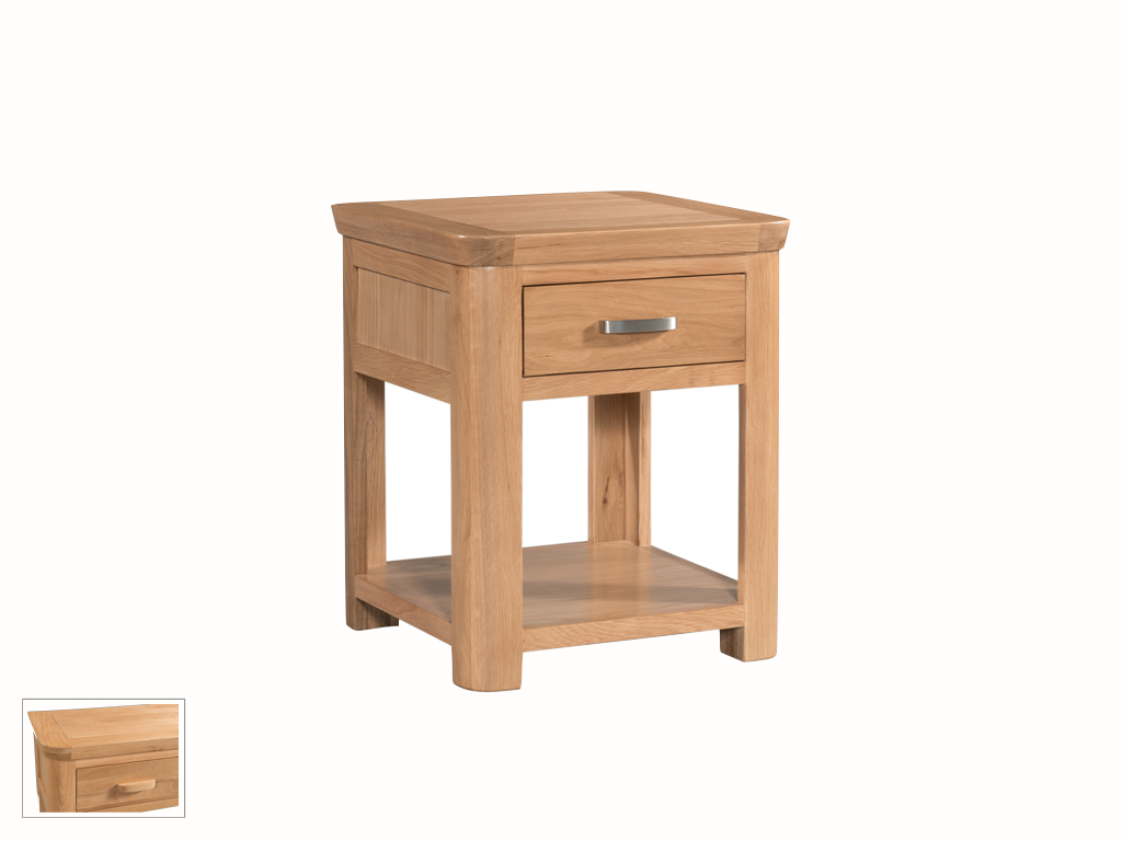 Milano Lamp Table with Drawer - Our Price £269
